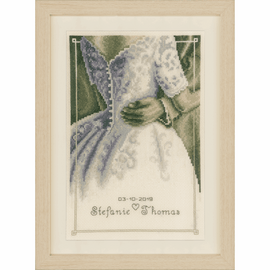 First Dance Cross stitch Kit by Vervaco