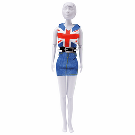 Couture Outfit Making Set: Combi Red Blue