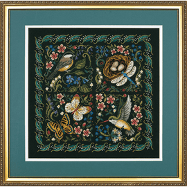 The Finery of Nature Counted Cross Stitch by Dimensions