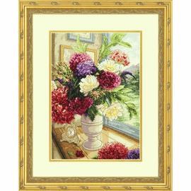 Summer Bouquet Cross Stitch Kit by Dimensions
