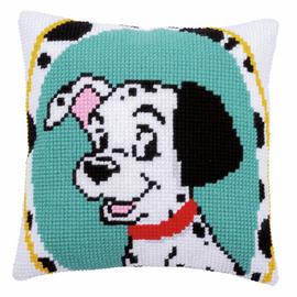 Disney Dalmatian  Cushion Cross Stitch Kit By Vervaco