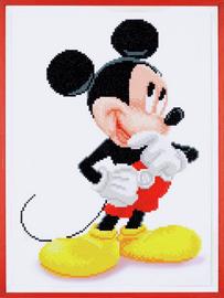 Disney  Mickey Mouse Diamond Painting Kit By Vervaco