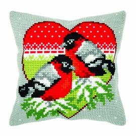 Winter Birds Chunky Cross Stitch Kit by Orchidea