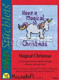 Magical Christmas Cross Stitch Kit by Mouseloft
