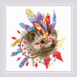 Thorny Tribe Counted Cross Stitch Kit By Riolis