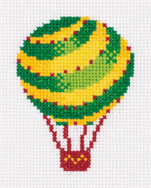 Air Balloon Counted Cross Stitch Kit by Klart