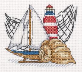 Little Lighthouse Counted Cross Stitch Kit by Klart