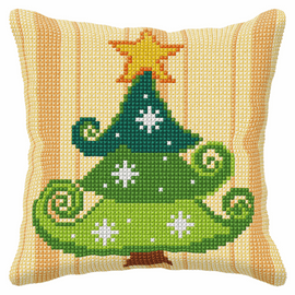 Christmas Tree Large Cross Stitch Kit By Orchidea