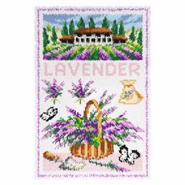 Lavender Latch Hook Rug Kit by Vervaco