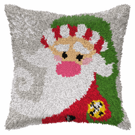 Large Santa Claus Latch Hook Rug Kit by Orchidea