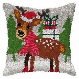 Large Reindeer Latch Hook Rug Kit by Orchidea