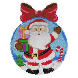 St Claus Latch Hook Rug Kit by Orchidea