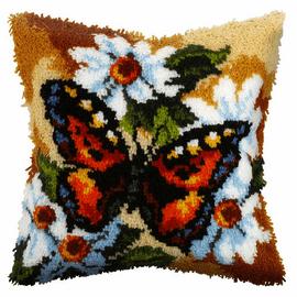 Butterfly Latch Hook Kit By Orchidea