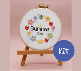 Summer Time Cross Stitch Kit by Sew Sophie