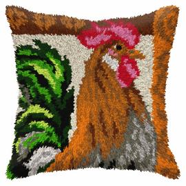 Rooster Latch Hook Kit By Orchidea