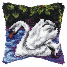 Swan Latch Hook Kit By Orchidea