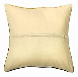 Ecru Cushion Back with Zipper 25.5 x 25.5cm by Orchidea