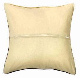 Ecru Cushion Back with Zipper 40 x 40cm by Orchidea