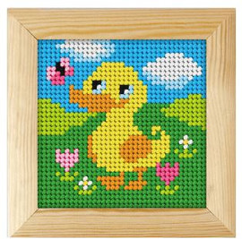 Printed Needlepoint Kit: Ducky by Orchidea