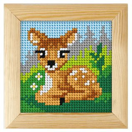 Printed Needlepoint Kit: Fawn by Orchidea