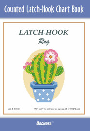 Cactus Latch Hook Chart by Orchidea