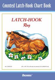 Horse Latch Hook Chart by Orchidea