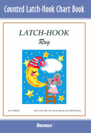 Mouse and the Moon Latch Hook Chart by Orchidea
