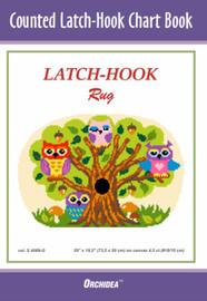 Owls Latch Hook Chart by Orchidea