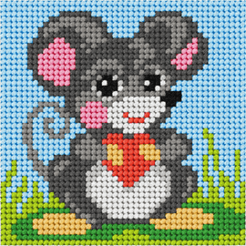 My First Embroidery Mini Mouse Kit By Orchidea