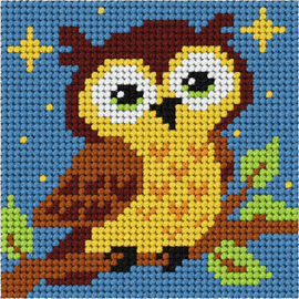 My First Embroidery Mini Owl Kit By Orchidea