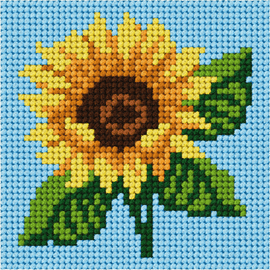 My First Embroidery Mini Sunflower Kit By Orchidea