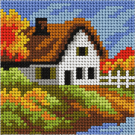 My First Embroidery Mini Autumn Landscape By Orchidea