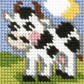 My First Embroidery Mini Cow Kit by Orchidea