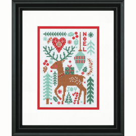 Nordic Winter Counted Cross Stitch by Dimensions