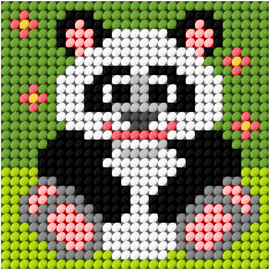 My First Embroidery Mini Panda Kit by Orchidea