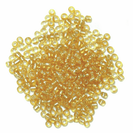 Seed Beads Gold 8g