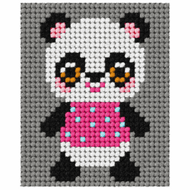 My First Embroidery Panda Kit by Orchidea
