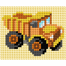 My First Embroidery Needlepoint Kit Truck by Orchidea