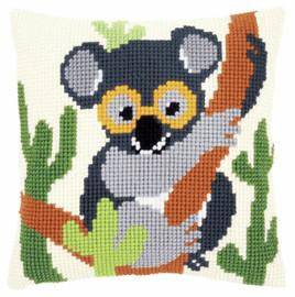 Koala Cushion Cross Stitch Kit by Vervaco