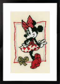 Disney It's About Minnie  Counted Cross Stitch Kit by Vervaco