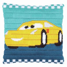 Disney Cars Cruz Long Stitch Kit By Vervaco