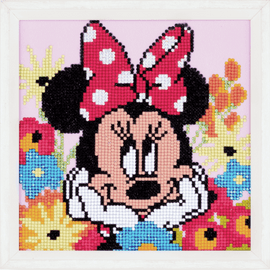 Minnie Daydreaming  Dimond Painting Kit By Vervaco