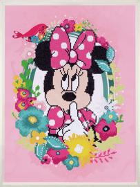 Minnie Shushing Disney Diamond Painting Kit By Vervaco