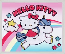 Hello Kitty: with Unicorn Diamond Painting Kit by Vervaco