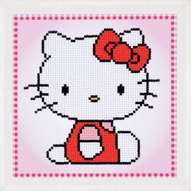 Hello Kitty  Cross Stitch : Cushion Kit by Vervaco