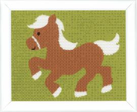 Pony Tapestry Kit by Vervaco