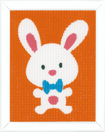 Cute Rabbit Tapestry Kit by Vervaco