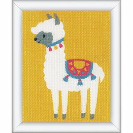 Llama Tapestry Starter Kit by Vervaco