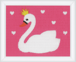 Swan Tapestry Kit by Vervaco