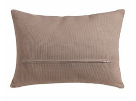 Cushion Back with Zipper: Natural: 45 x 35cm or 18 x 14in by Vervaco